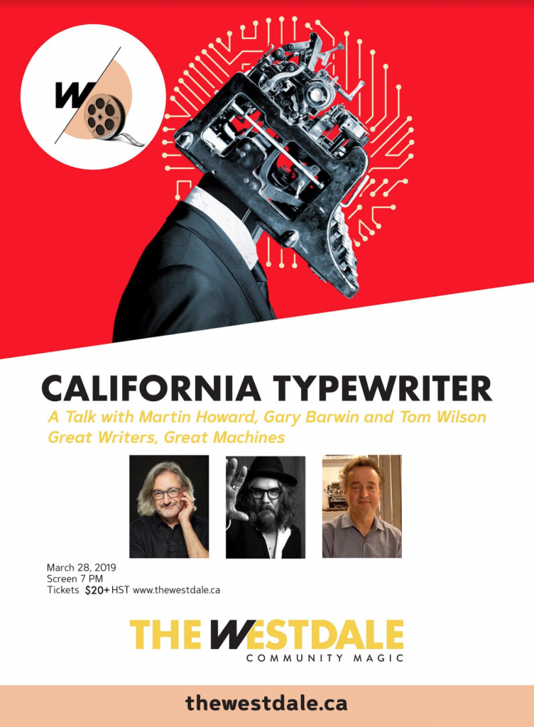 Film & Talk: California Typewriter