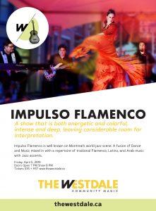 Impulso Flamenco poster