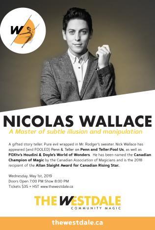 Nicolas Wallace poster