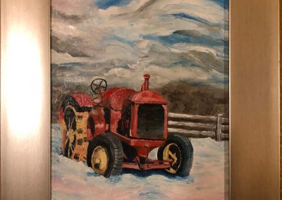 Tractor at Spruce Land Farm